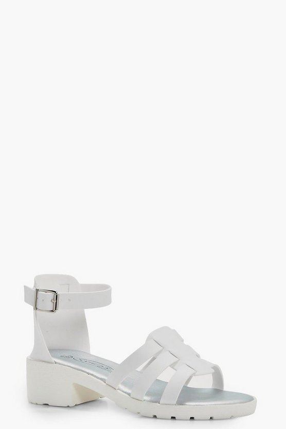 Girls Detailed Fisherman Sandal