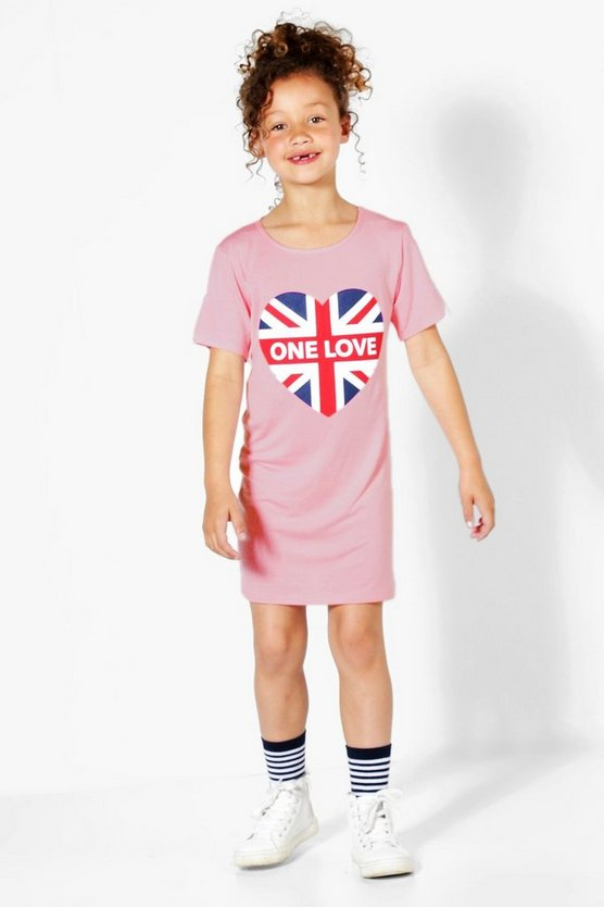 Charity Girls One Love T-Shirt Dress