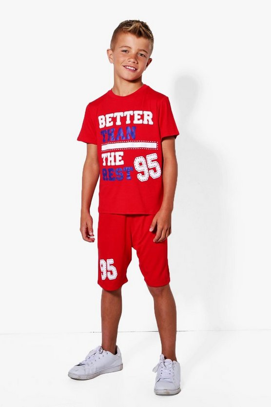 Boys Better Than The Rest Tee And Short Set