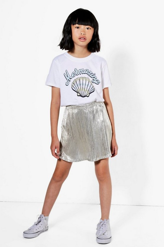 Girls Mermazing Tee