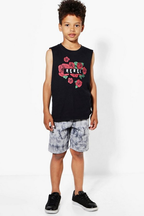 Boys Tie-Dye Sweat Shorts