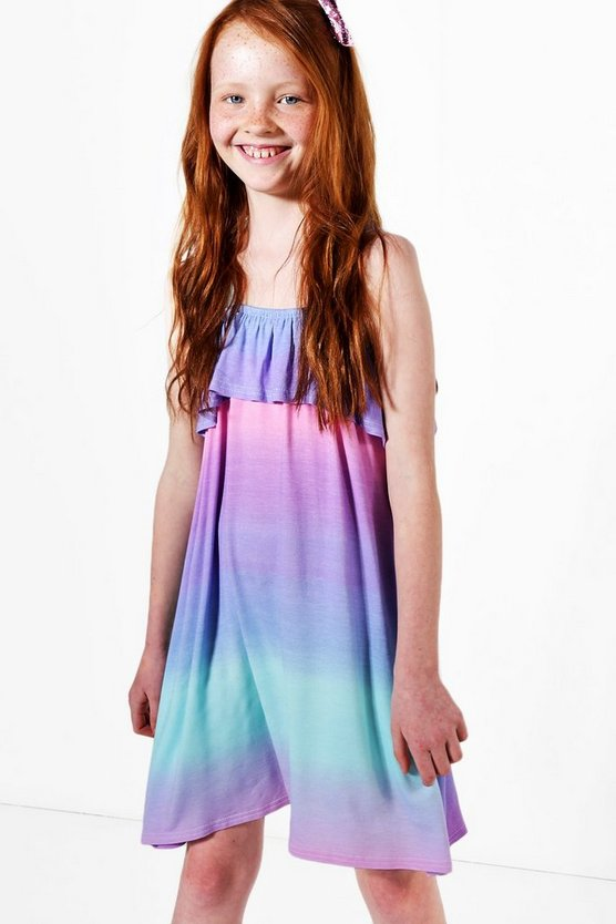 Girls Ombre Beach Dress