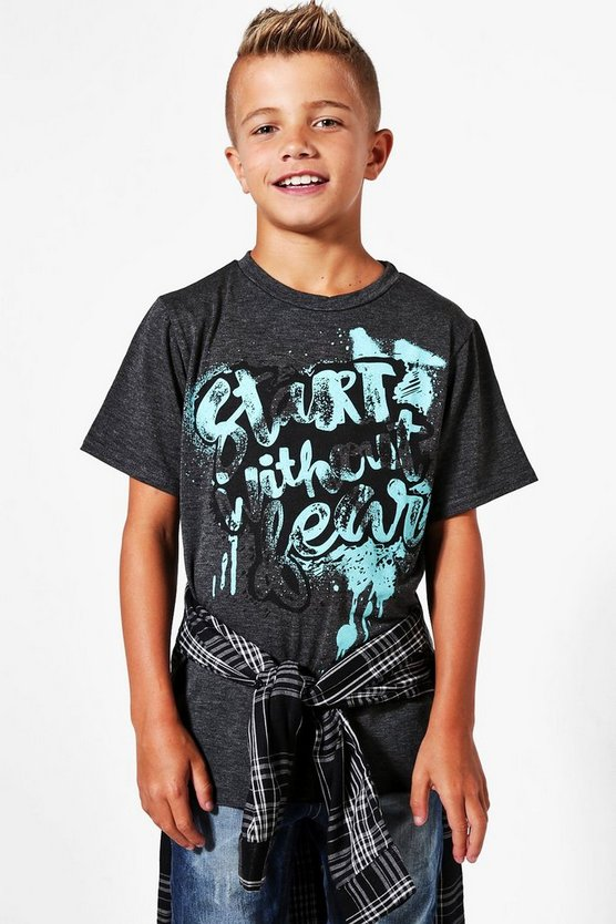 Boys Spray Paint Tee