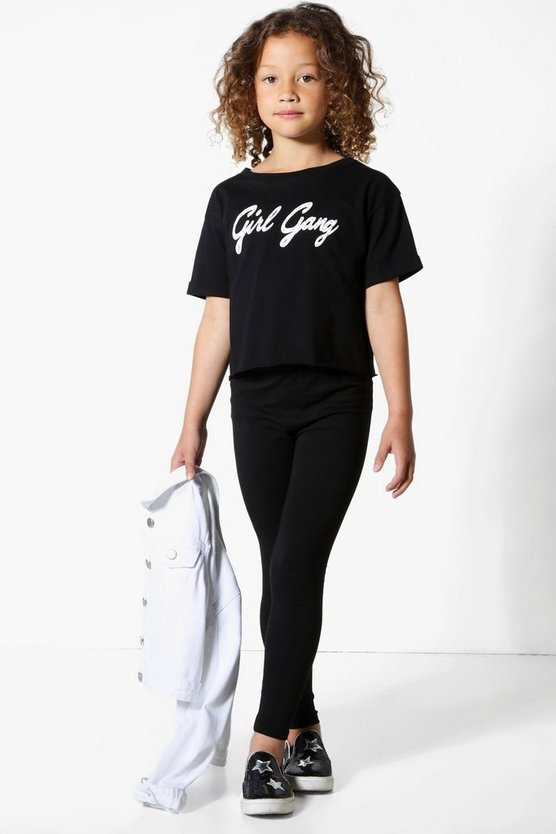 Girls 'Girl Gang' Tee Set