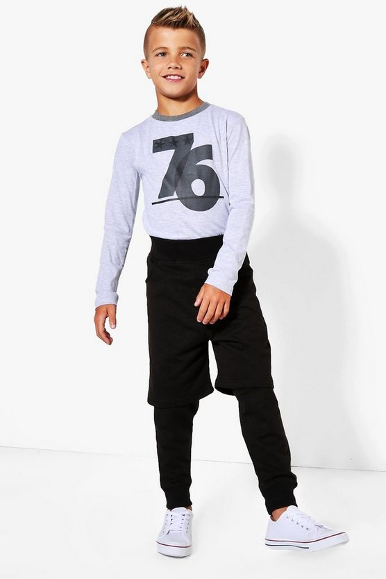 Boys Double Layer Joggers