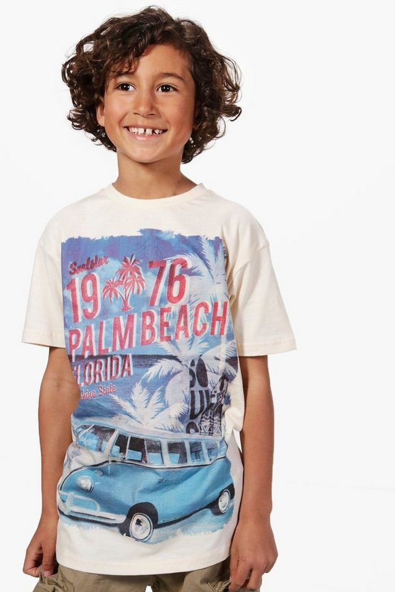 Boys Palm Beach Florida Tee