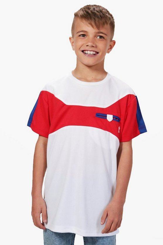 Boys Colour Block Tee