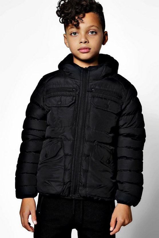 Boys Padded Coat