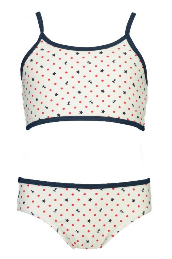 Girls Sailor Crop Bikini Set