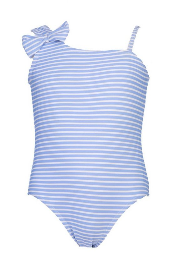 Girls Stripe Swimsuit