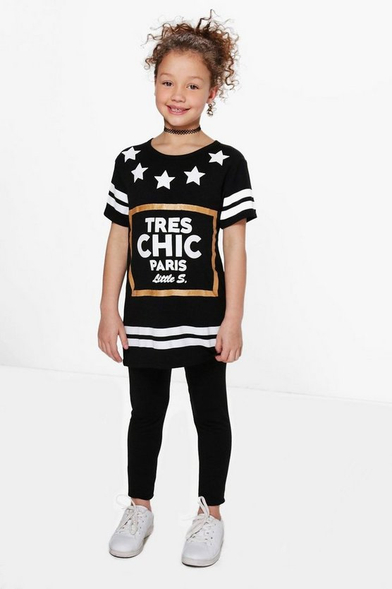Girls Tres Chic T-shirt Set