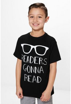 Boys Readers Gonna Read Tee