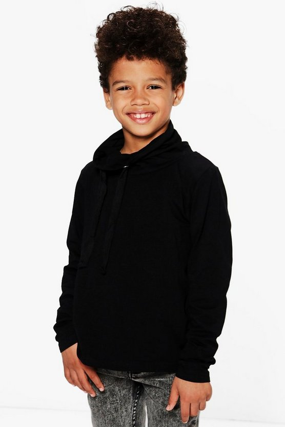 Boys Cowl Neck Top