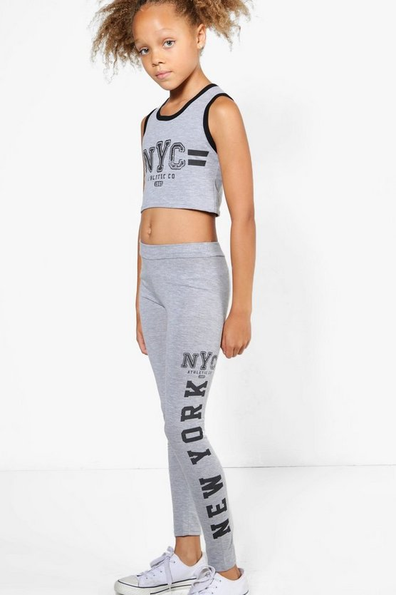 Girls NYC Sports Set