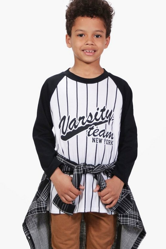 Boys Varsity Long Sleeve Top