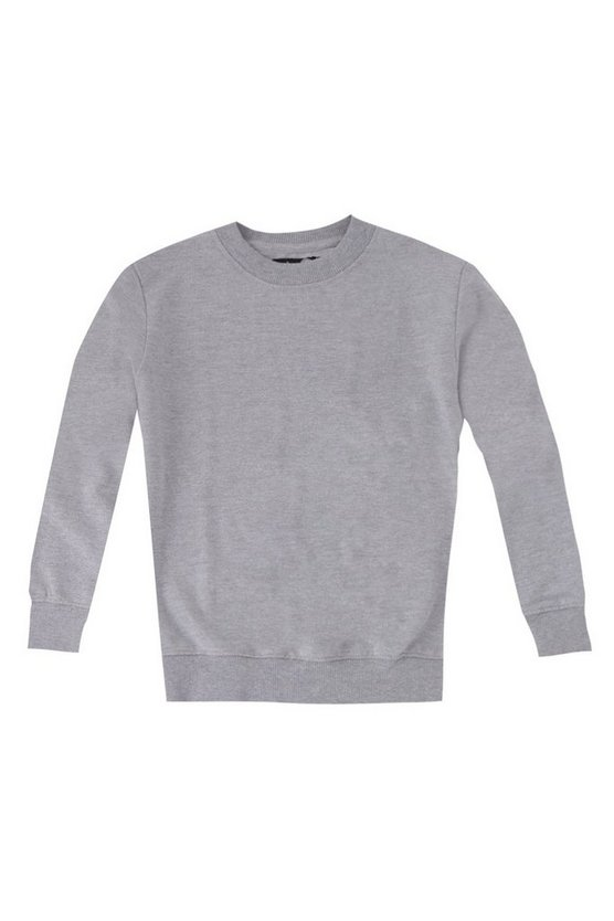Boys Basic Crew Neck Sweater