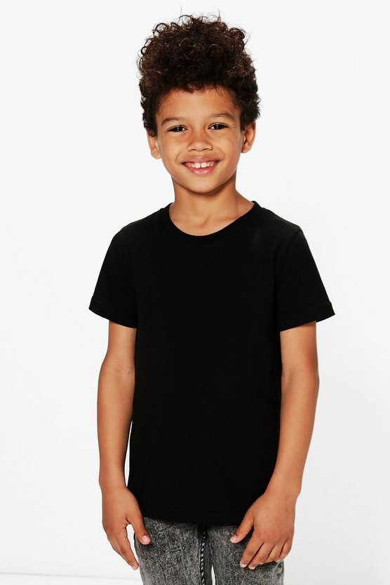 Boys Basic Crew Neck Tee