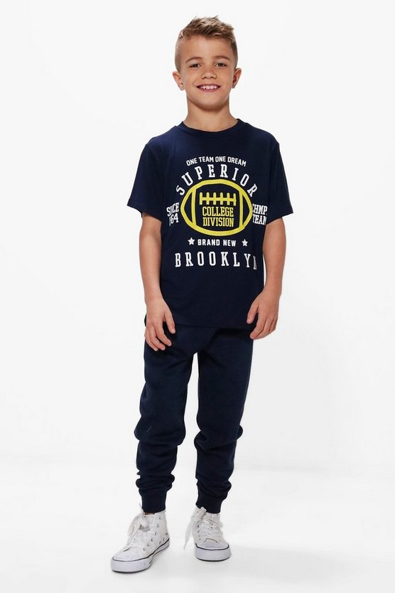 Boys Superior Tee & Jogger Set