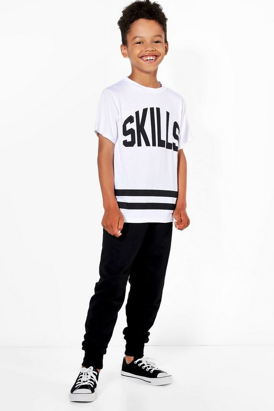 Boys Skills T-Shirt & Jogger Set
