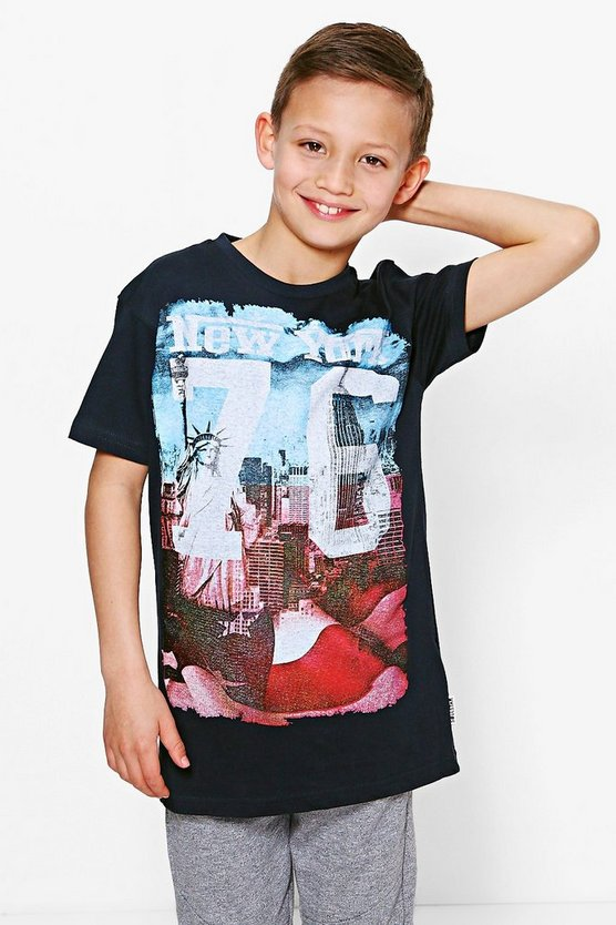 Boys New York 76 Tee