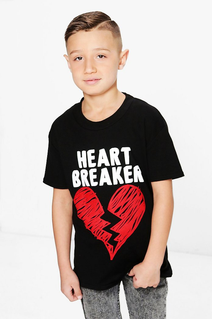 Boys Heart Breaker Tee