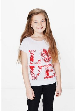 Girls Love Valentines Tee