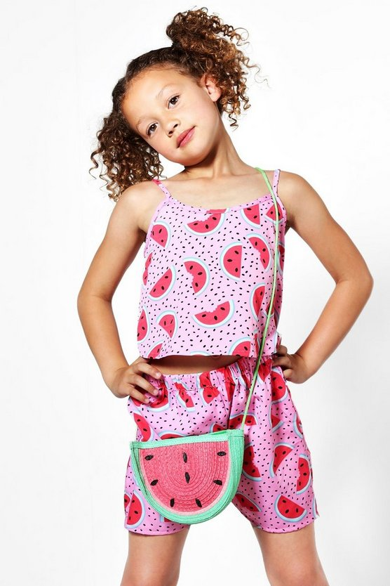 Girls Cami & Shorts Co-ord Set
