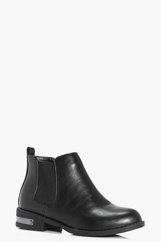 Girls Basic Chelsea Boots