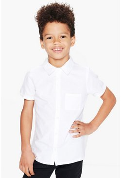 Boys Short Sleeved Shirt