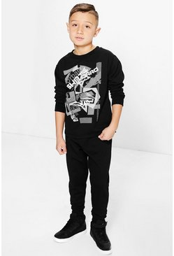 Boys Skateboard Tracksuit Set