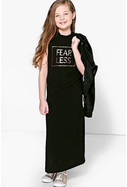 Girls Fearless Split Side Tunic