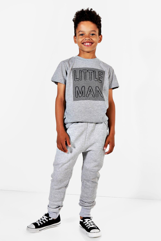 Boohoo-Pantaloni-Jogging-Skinny-Bambino-per-Uomo