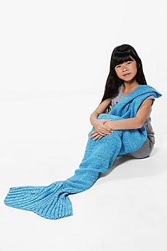 Girls Mermaid Tail Blanket