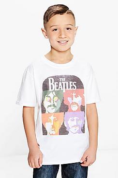 Camiseta De Los Beatles Para Niño