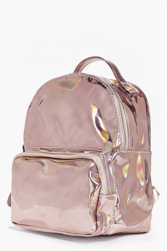 Girls Metallic Rucksack