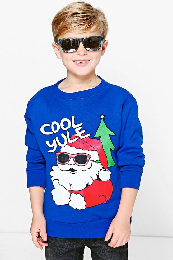 Boys Cool Yule Jumper