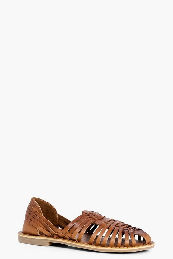 Boys Leather Hurache Sandal