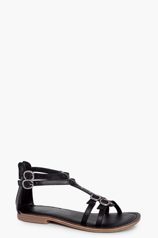 Girls Studded Gladiator Sandal