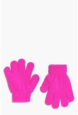 Girls Magic Neon Gloves