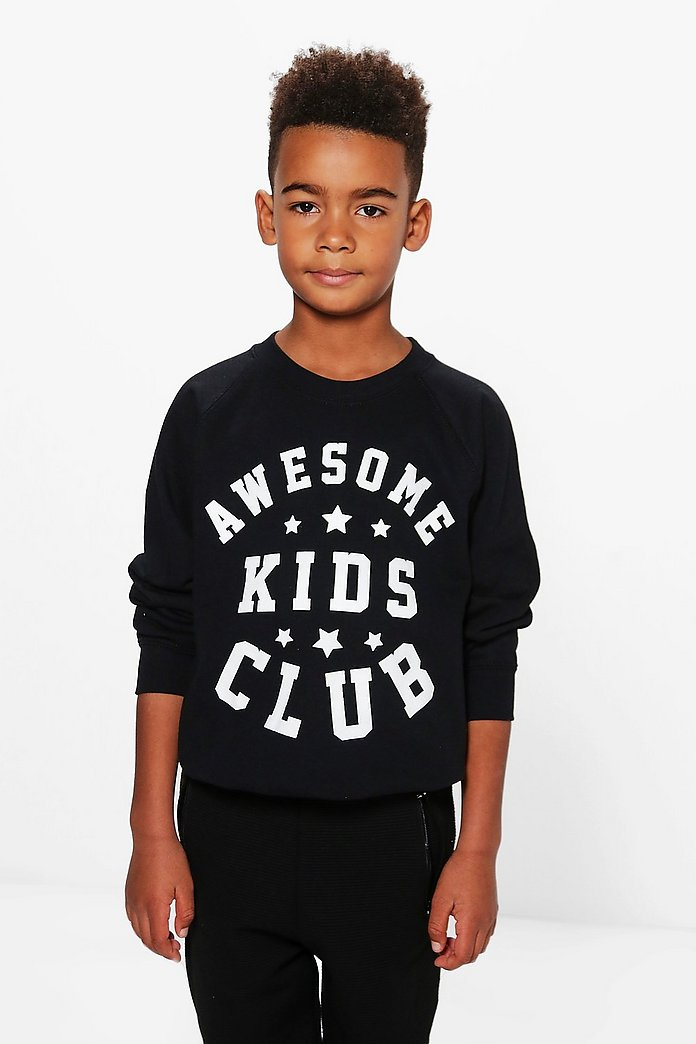 Boys Kids Club Sweat Top