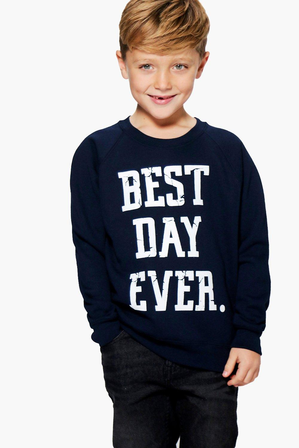 Boys Best Day Ever Sweat Top