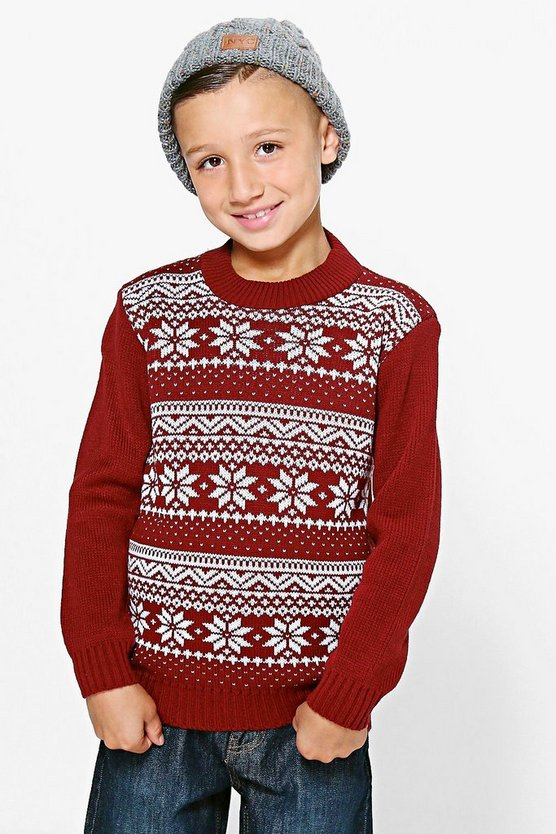 Boys Fairisle Jumper
