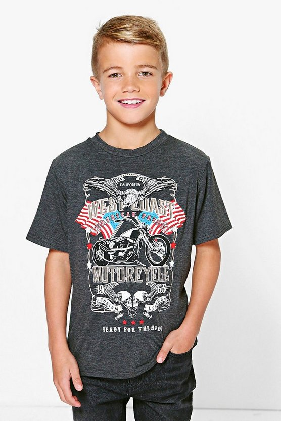 Boys Motorcycle T Shirt
