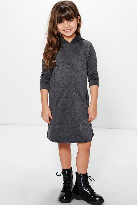 Girls Hooded Sweat Dress