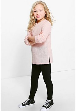 Girls Knitted Jumper & Legging Set