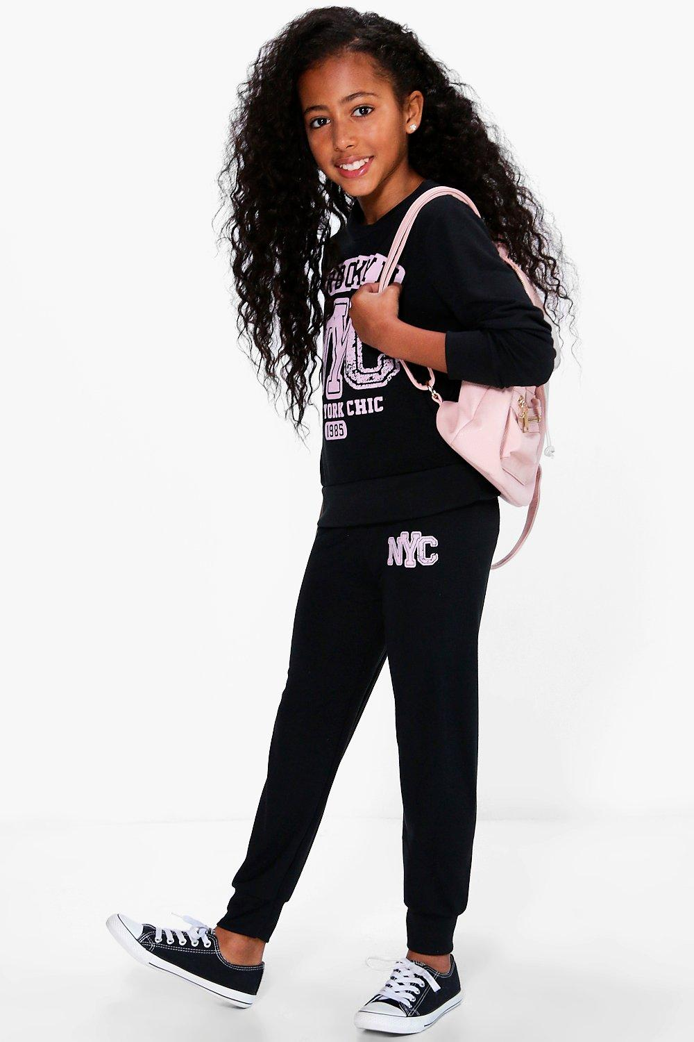 Girls Brooklyn Tracksuit Set