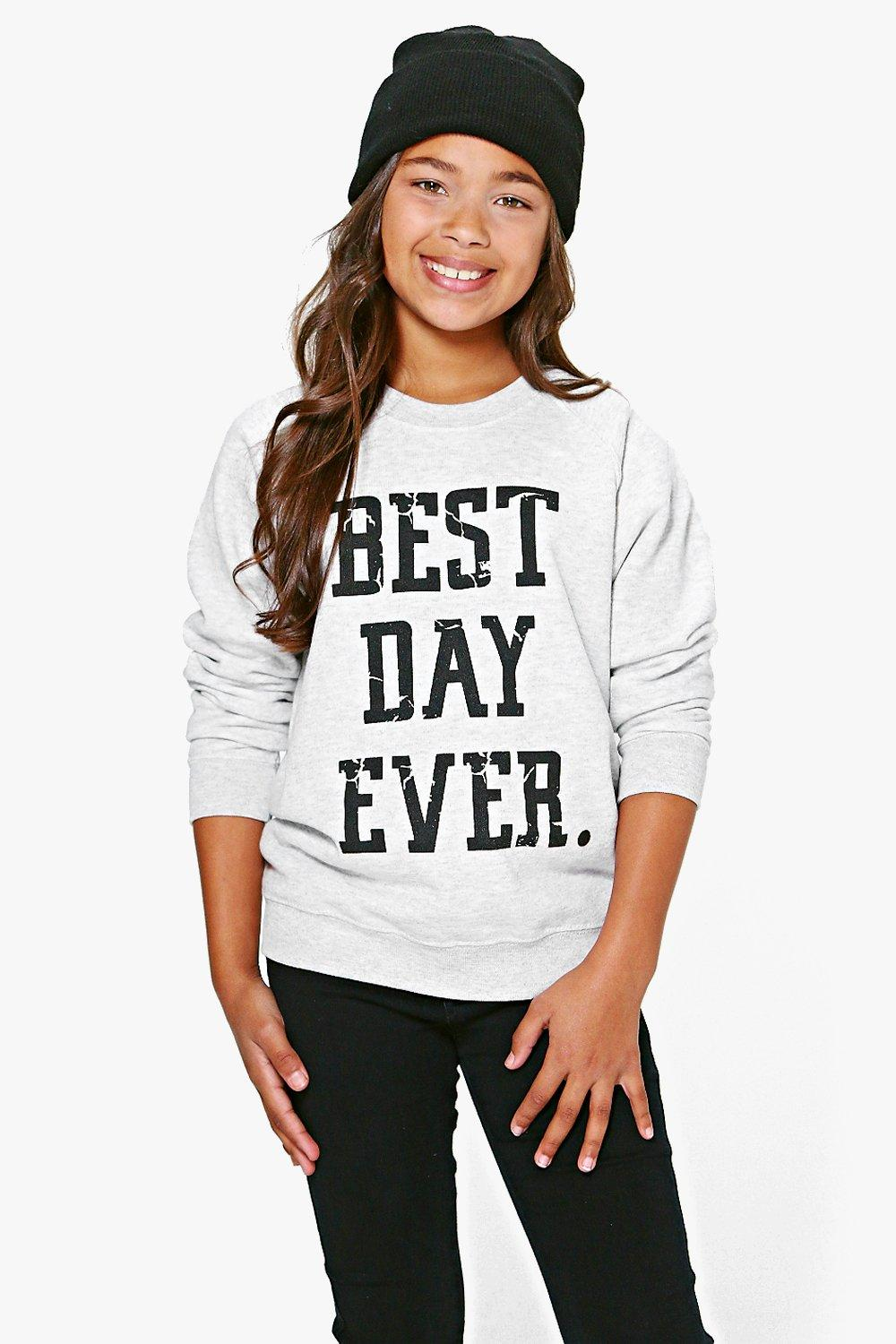 Girls Best Day Ever Sweat Top