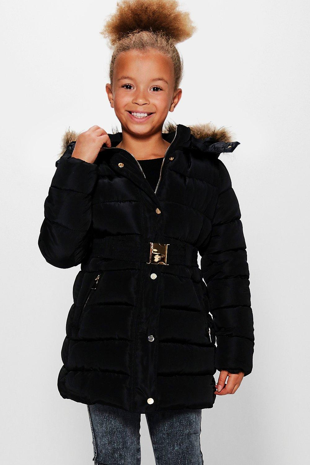 Black Girls Coat | Down Coat