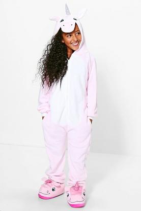 Girls Unicorn Supersoft Onesie