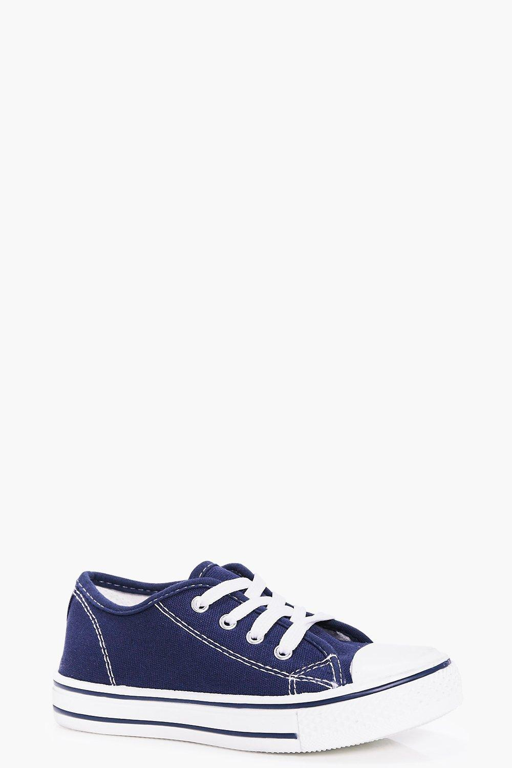 Boys Lace Up Pump